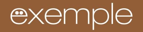 Exemple de logo en negatiu